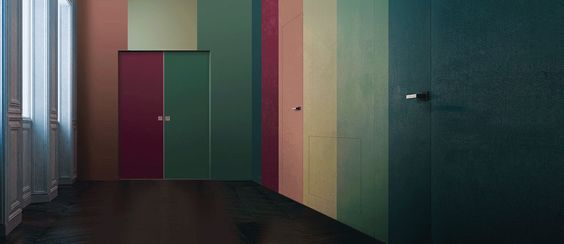 Portes invisibles de la collection Syntesis®