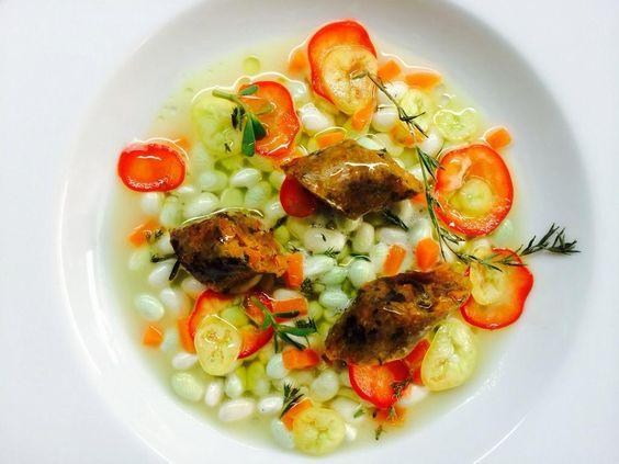 Alain Passard @ArpegeLive   Chili con merguez végétale