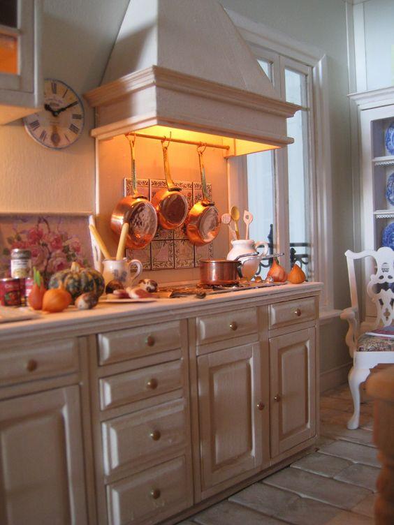 Un Petite Folie kitchen