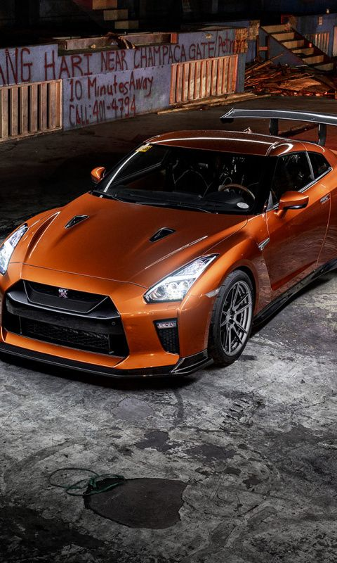 Nissan Gt R Sports Car Orange Wallpaper Nissan Gt R Nissan Gt Nissan Gtr Wallpapers