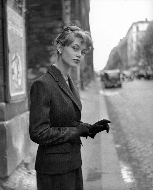 Brigitte Bardot By Georges Dambier Paris, 1954