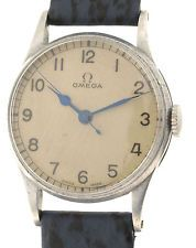 OMEGA MILITARY WATCH - CROSS ARROW BRITISH  ARMY SECOND WORLD WAR - OFFIZIERSUHR