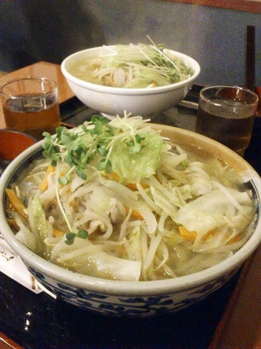 八王子 長岡屋さんの、タン麺大盛り♪