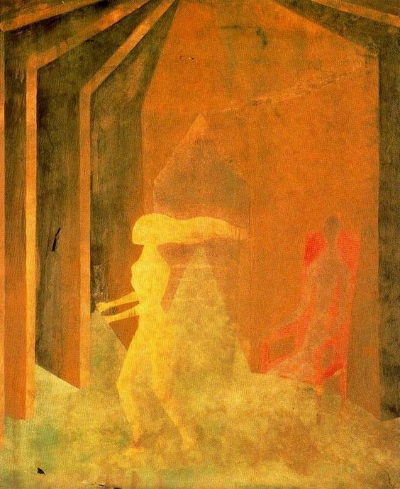 Androgynous - Remedios Varo (1908-1963, Spain)