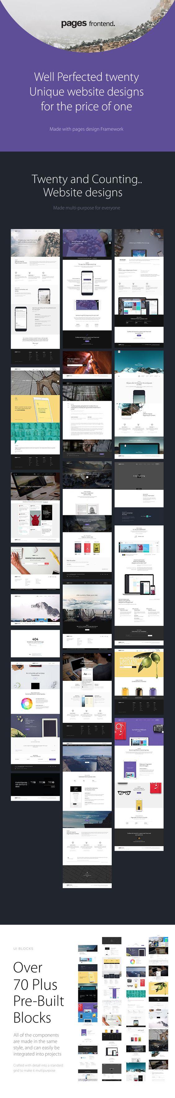Pages - Multi-Purpose HTML5 Website Template | Web design ...