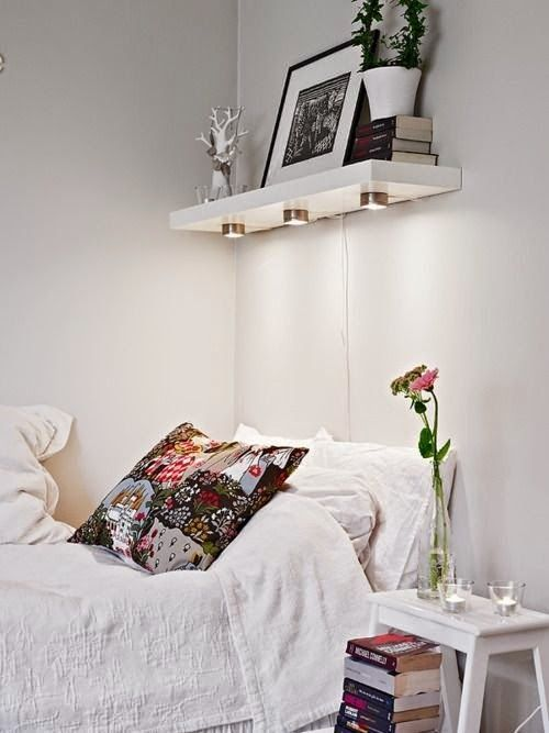 Soluções para pequenos quartos