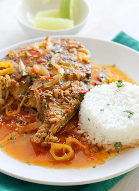 Caribbean style king fish cumin garlic hot pepper for King fish recipes