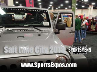 You can sit in a variety of off-road vehicles at ISE Salt Lake City
