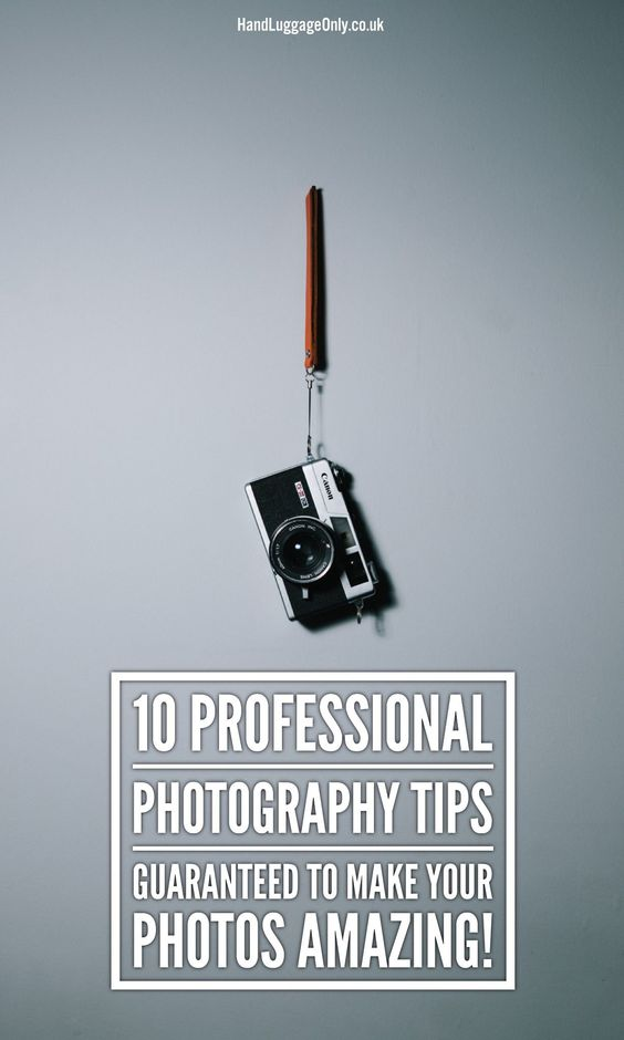 Ten tips for better photos, starting off with the basics, but also covering a few ideas you may not have thought of before.