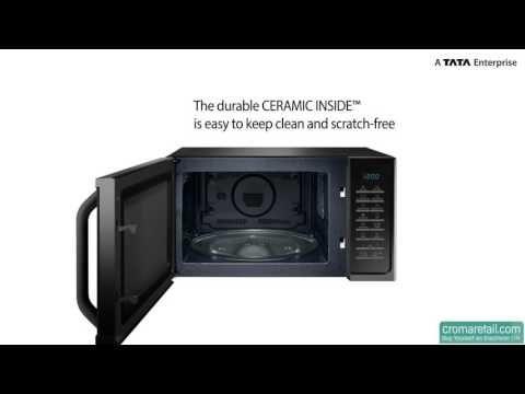 Samsung Ms23f301tak Tl 23 L Solo Microwave Oven Microwave Samsung Appliances Microwave Oven