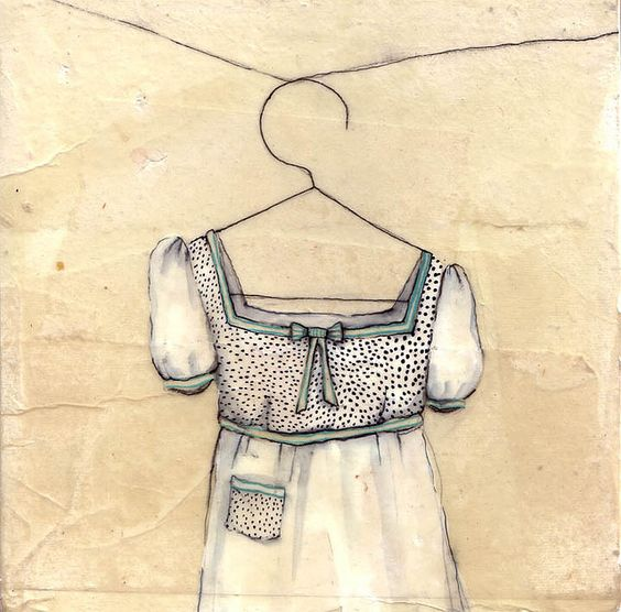 .: Simple Sweet, Japanese Paper, Sheart Måla, Sweet Dress, Illustration Art, Art Illustration, Art Dresses, Drawing
