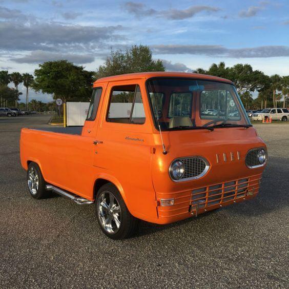 1966 Ford Econoline Pickup Rare With Small Block V8 Camionetas