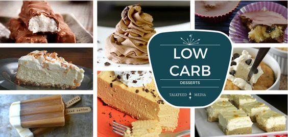 20 Low Carb Desserts