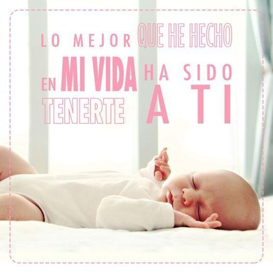 Frases Para Bebes Frases Para Bebes Frases Mama E Hijo Y