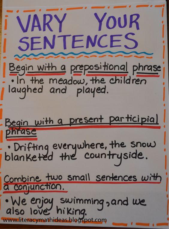 "Writing ""sentences"" – no longer a punishment!"