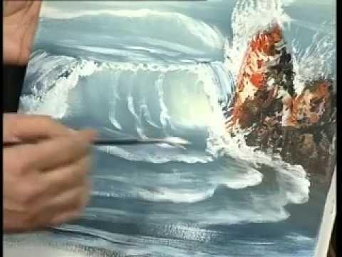 Yagliboya Deniz Nasil Yapilir Youtube Deniz Resmi Nasil Cizilir Dalga Nasil Cizilir Deniz Mavi Ton Nasil Kullanilir H Resim Dalga Akrilik Boyama Teknikleri