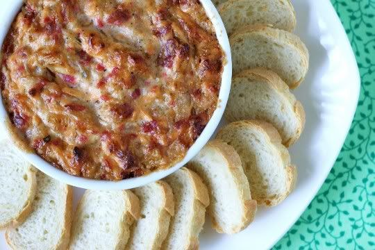 This Can't Be Vegan: Hot Caramelized Onion-Bacon Dip: