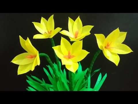 Cara Membuat Bunga Lily Hujan Dari Plastik Kresek Youtube Bunga Hujan Plastik