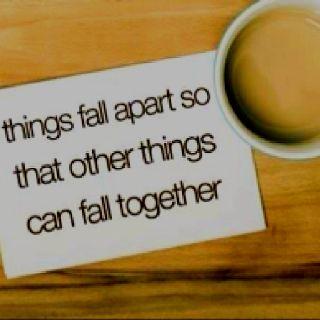 Things fall apart ...: