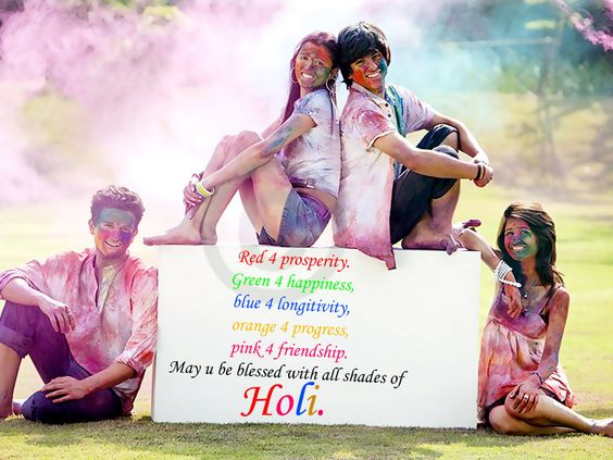 Holi Greetings Cards
