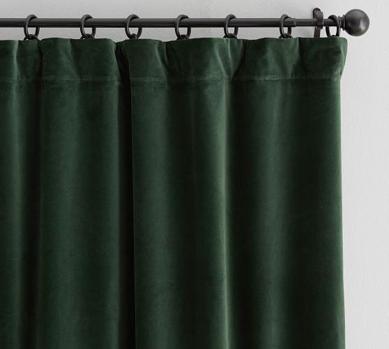 Velvet Twill Drape Navy Curtains Custom Drapes Drapes And Blinds