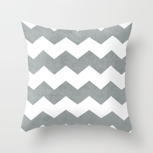 chevron - gray by her art