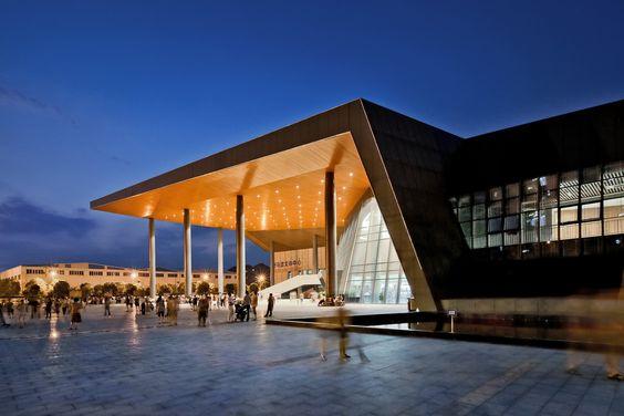 Galeria de Centro Cultural e Esportivo ZHOUSHI / UDG YangZheng Studio - 13