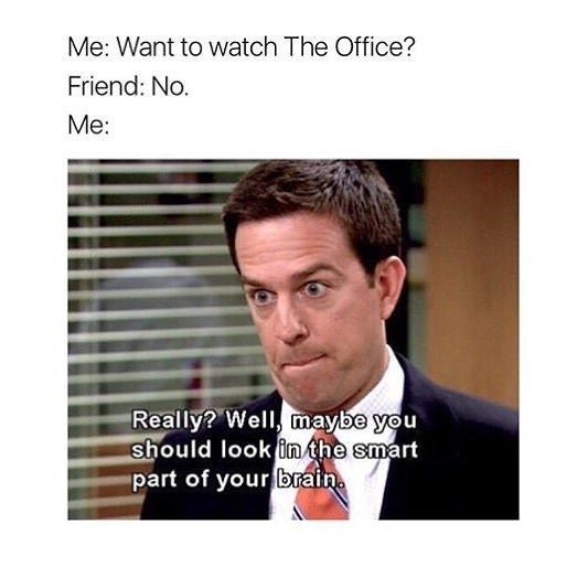 20 Memes And Moments From The Office For The Fanatics Who Can T Get Enough Dunder Mifflin Office Memes Humor The Office Show Office Memes