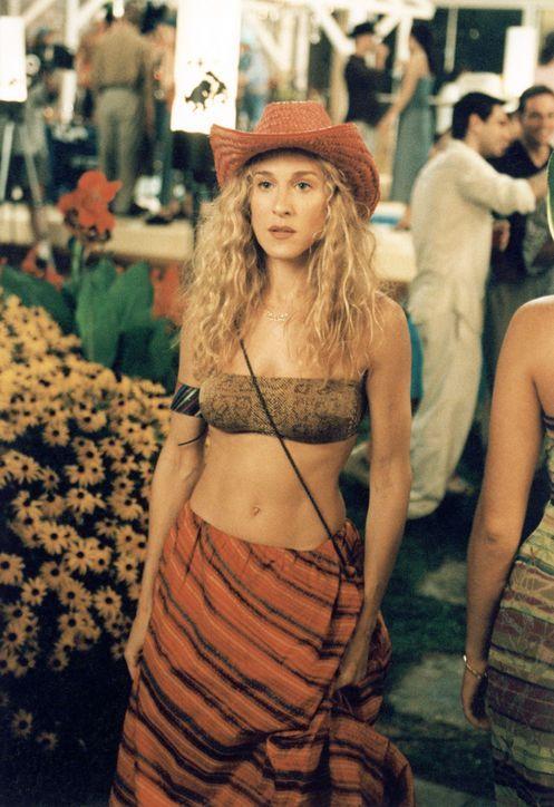 Carrie Bradshaw cowboy hat