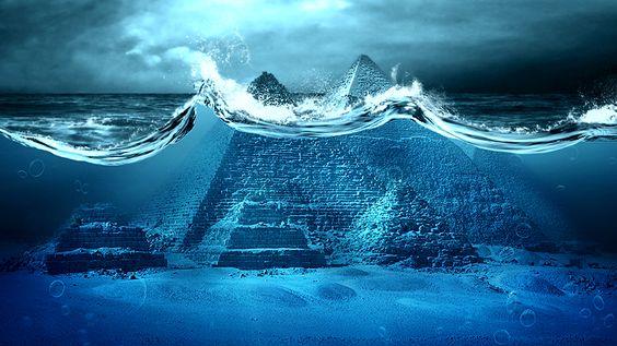 Las pirámides y la esfinge de la meseta de Giza son posiblemente miles de años más antiguas que ...