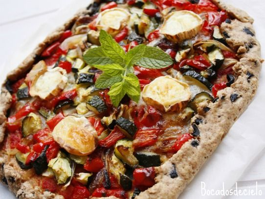 Vegetable Gallete.-healthy & really good! ñam-ñam