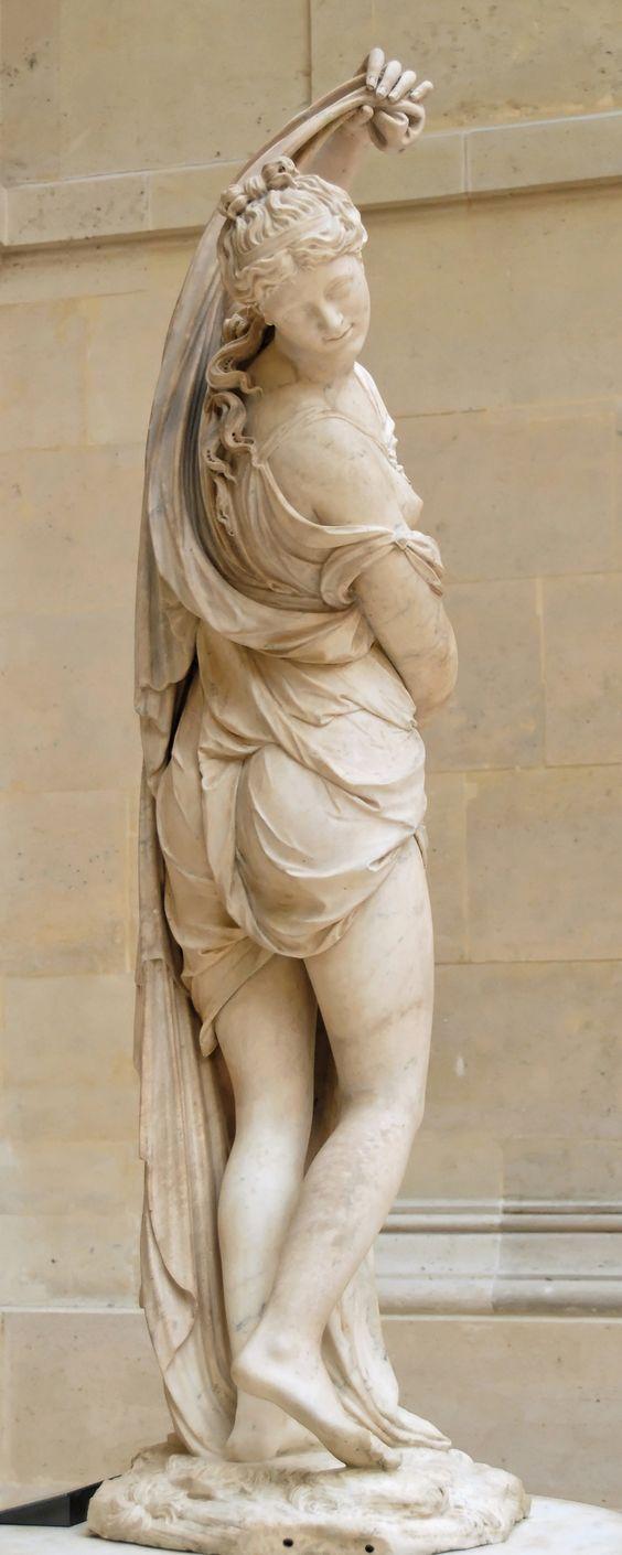 François Barois. Venus Calipigia. Museo del Louvre
