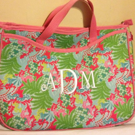 Monogrammed Lilly!