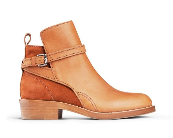 suede leather bootie shoes fashion trends