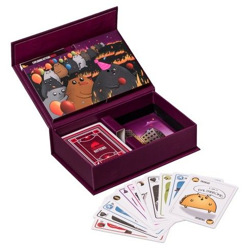 Exploding Kittens Party Pack Game Exploding Kittens Kitten Party Party Packs