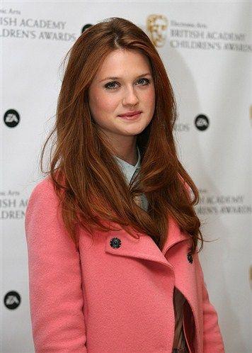 pink coat! five points for Gryffindor!