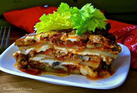 potato lasagna no writing