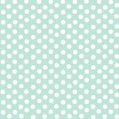 mint dot fabric