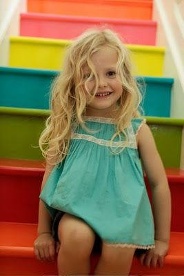 little turquoise dress
