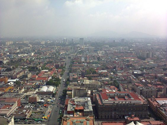 """""""Mi ciudad vista desde la Torre Latinoamericana"""""""