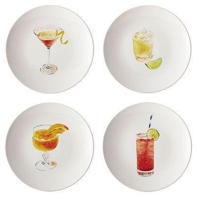 "Rachael Ray Rachel Ray Dinnerware Cocktails 8.25"" Party Plate"