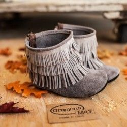 Unisex Moccasins: Hip Cool Trendy Baby Clothes - NICKY + STELLA