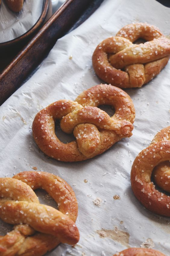 Soft pretzels, Pretzels and Soft pretzel recipes on Pinterest