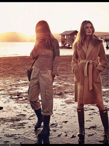 Andreea Diaconu & Edita Vilkeviciute for Vogue Paris May 2014 by {this is glamorous}, via Flickr
