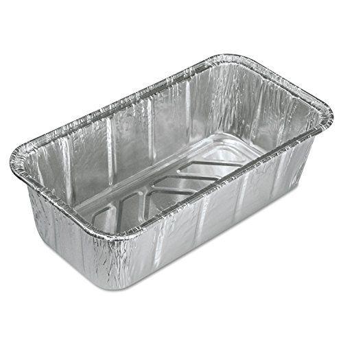 Aluminum Baking Pan 2 Loaf 8 X 3 7 8 X 2 19 32 200 Carton By