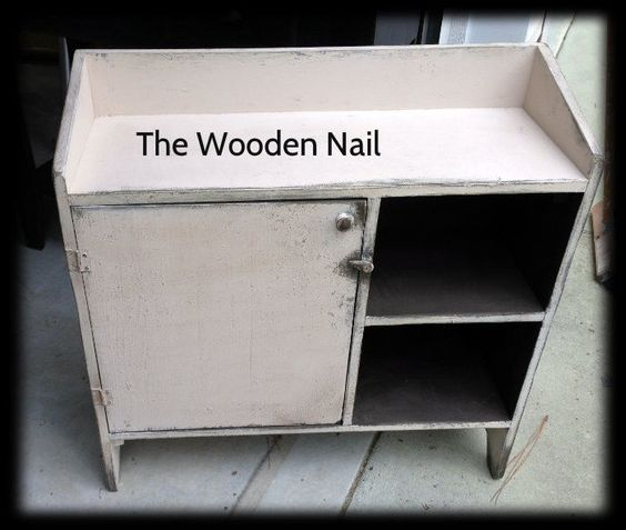 Primitive Bucket Cupboard Bench  Pattern/Plan WN123