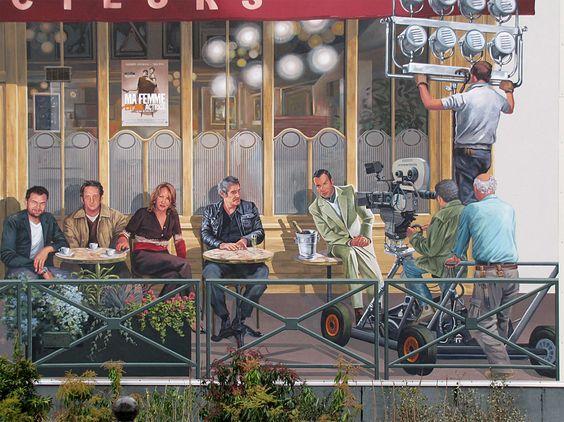 Café des Acteurs by Patrick Commecy & A.Fresco