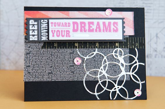 Toward Your Dreams Card - Noel Culbertson -  Scrapbook.com for TheScrapReview.com & The Crafter's Workshop