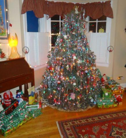 My Christmas tree & decorations ~