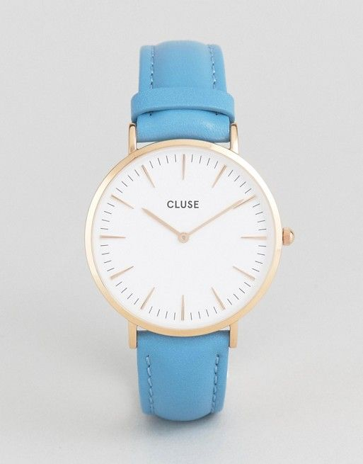 Lovely Things No.13 - Cluse La Boheme Blue Watch